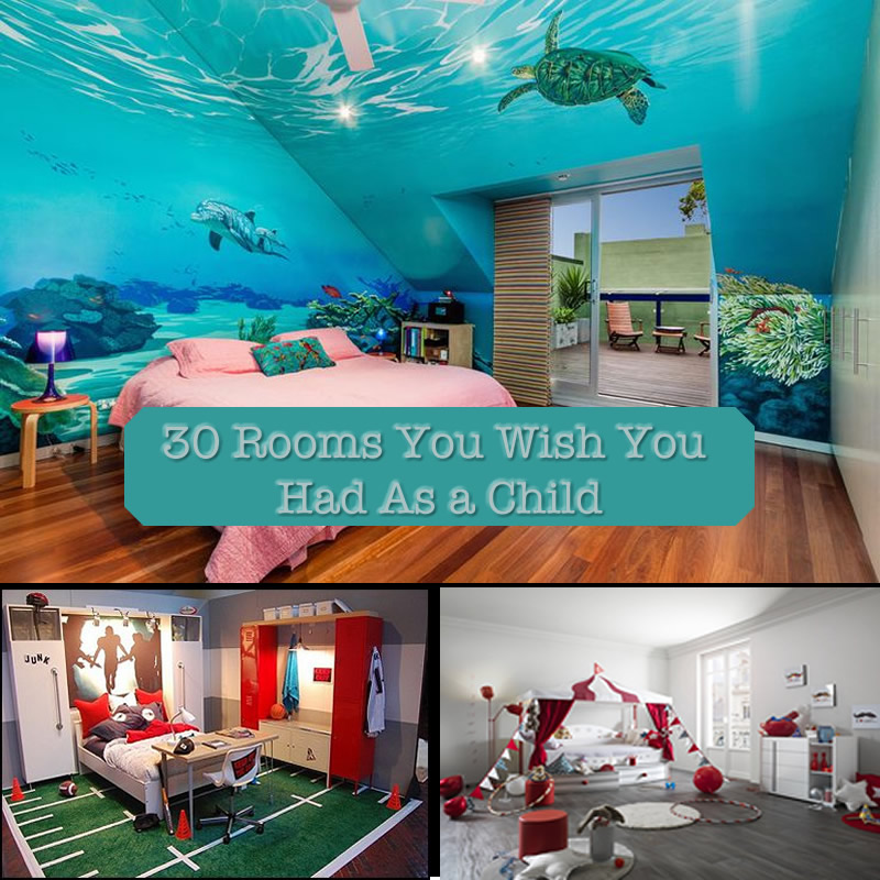 30 Bedrooms  You Wish You Had As A Child