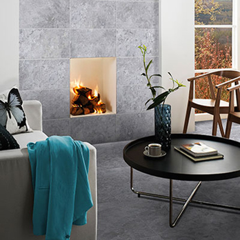 HD Slate Grey Ceramic Floor Tiles