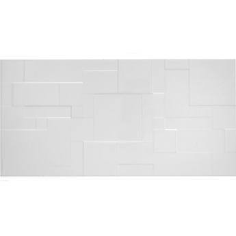 Form Patchwork White Gloss Wall Tiles