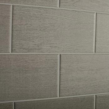 Bergen Grey Ebony Teak Wood Effect Ceramic Wall Tiles