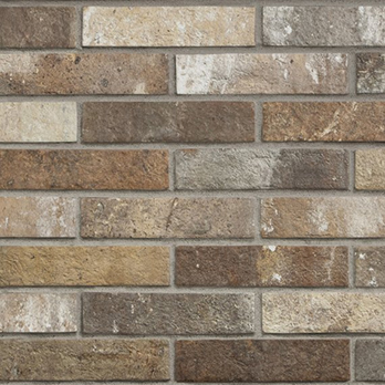 Mixed Colours Brick Tiles