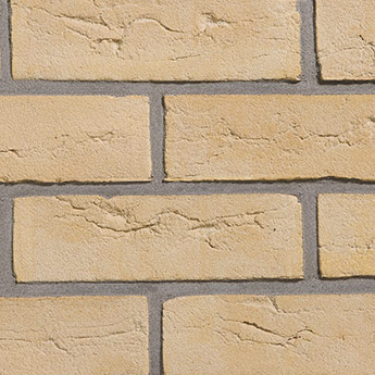 Modern Yellow Handmade Brick Slips