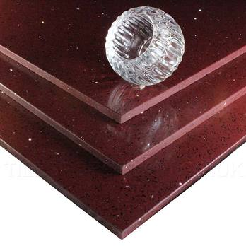 Massive Savings on Sparkly Plum Quartz Tiles