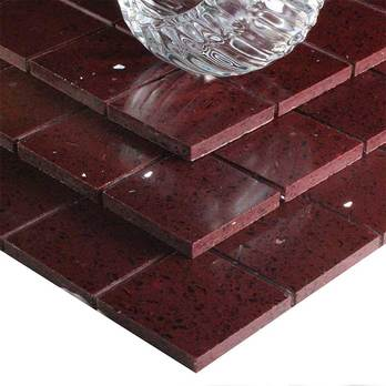 Add a low cost feature with sparkly Plum Quartz Mosaics