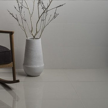 Eminence White Ceramic Satin Wall Tiles